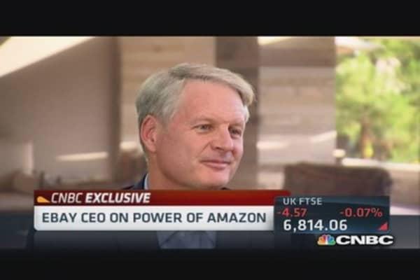 EBay CEO serious about bitcoin