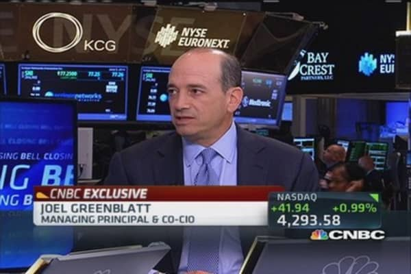 Invest like Joel Greenblatt
