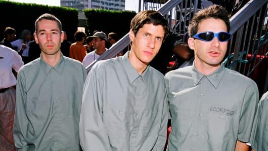 Adam Yauch, Mike Diamond and Adam Horovitz of Beastie Boys