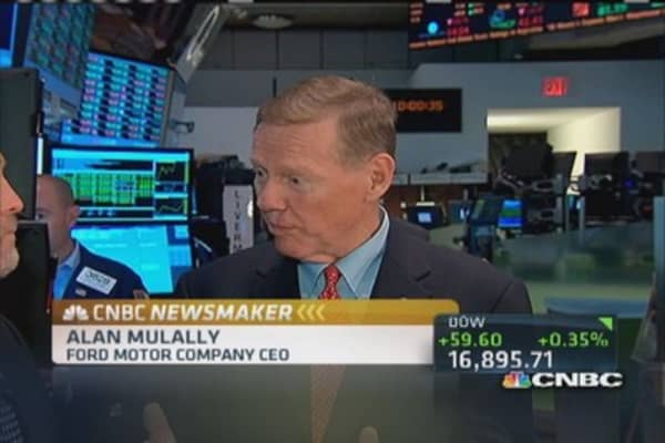 Alan Mulally's farewell tour