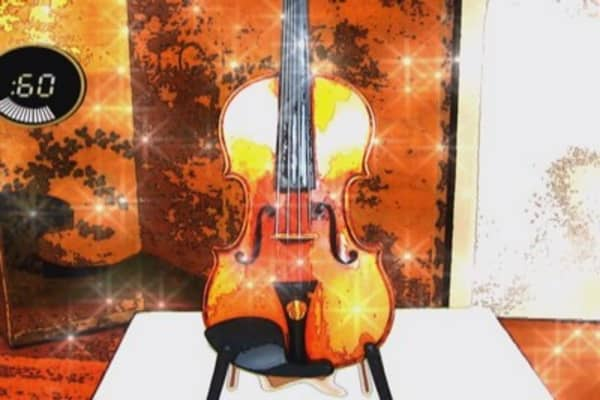 Heiress's multi-million dollar violin up for auction