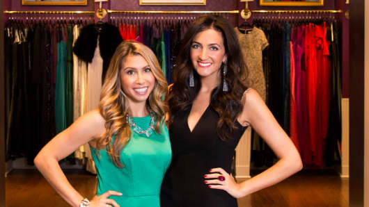 Jennifer Fleiss (left) and Jennifer Hyman, co-founders of Rent the Runway