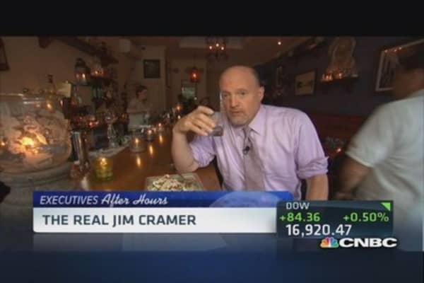 Inside Cramer's restaurant