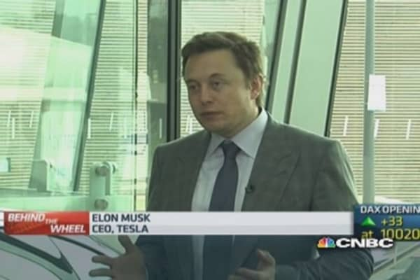 Tesla considering UK R&D center: CEO
