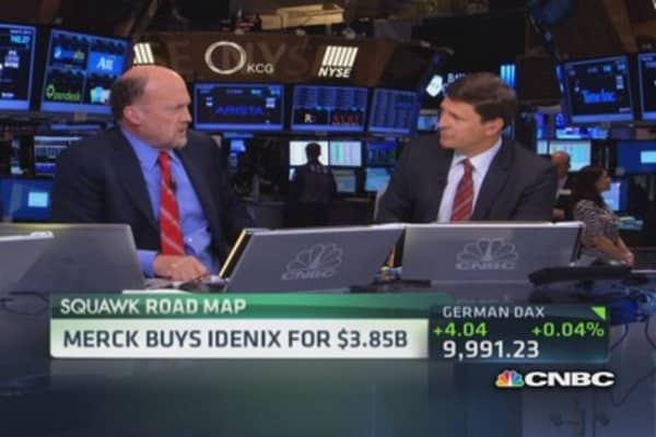 Merck buys Idenix for $3.85 billion