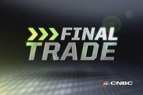 FMHR Final Trade: RF, TCB, HDS & APC