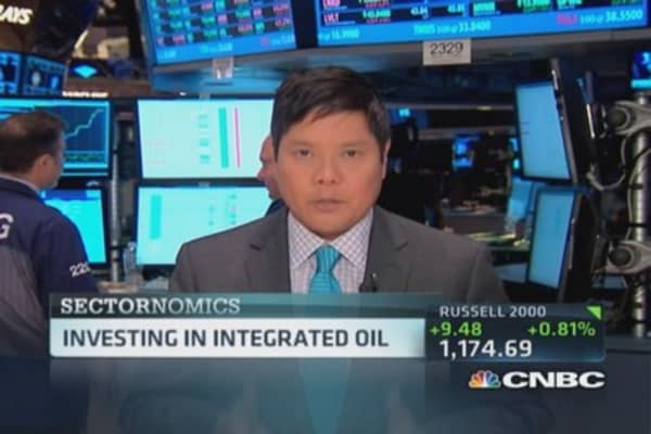 Investing in integrated oil