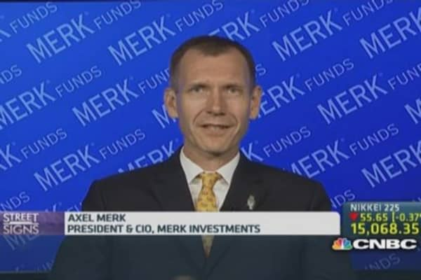 Merk: 'Extremely concerned' about low volatility