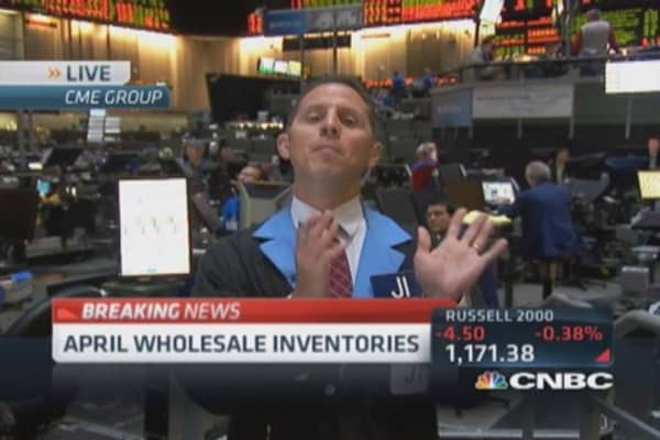 Wholesale inventories up 1.1%