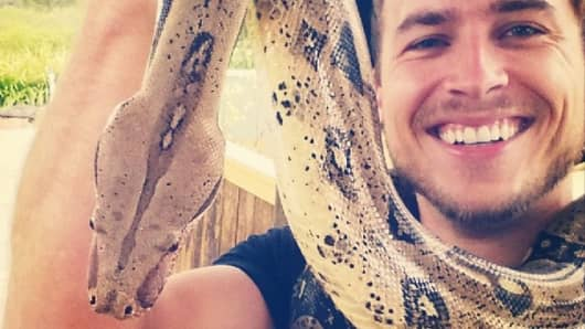 #snakeselfie at Symbio Wildlife Park