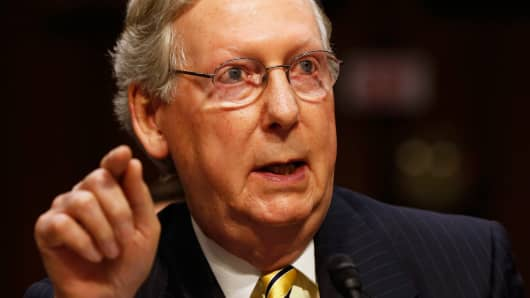 U.S. Senate Minority Leader Mitch McConnell