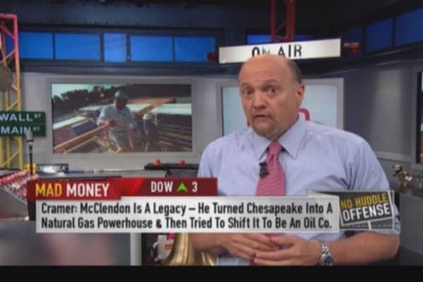 Cramer: Aubrey McClendon 'a visionary'