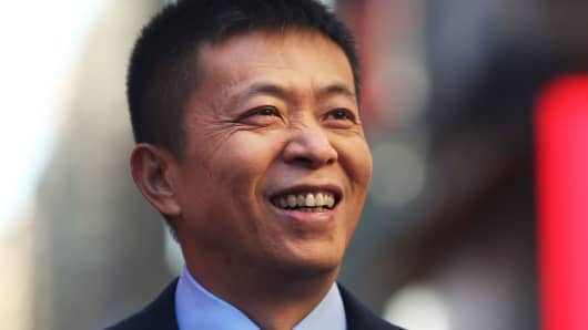 China's Weibo CEO Charles Chao.