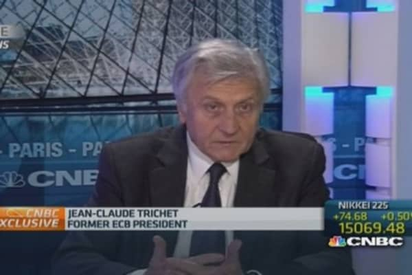ECB action is 'justified' : Trichet