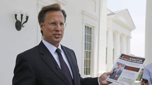 Seventh District US Congressional Republican candidate, David Brat.