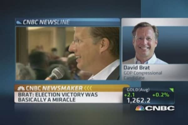 Dave Brat: Victory was a miracle