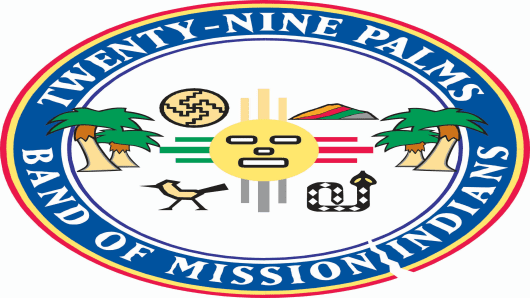 Twenty-Nine Palms Band of Mission Indians Logo