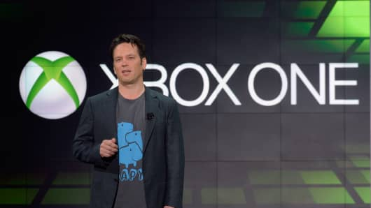 Phil Spencer, vice president of Microsoft Game Studios at Microsoft Corp.