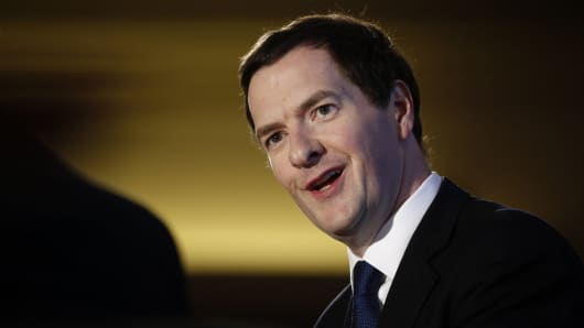 George Osborne, U.K. chancellor of the exchequer.