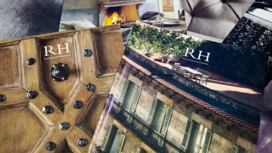 Restoration Hardware shares leap more than 11% after earnings beat