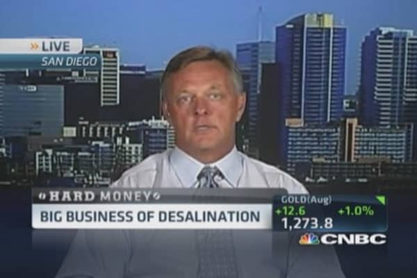 Big business of desalination