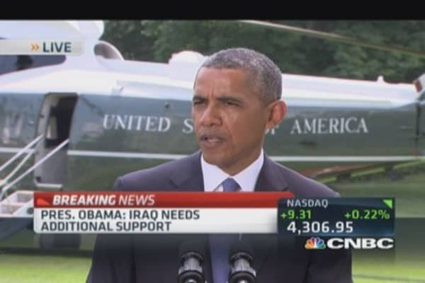 Pres. Obama: Have enormous interest in Iraq