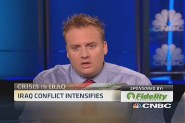 Trader analyzes Iraq