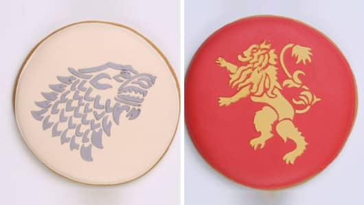 Game of Thrones cookies.
