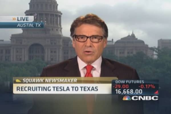 Texas' pitch to Tesla