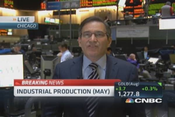 May industrial production up 0.6%