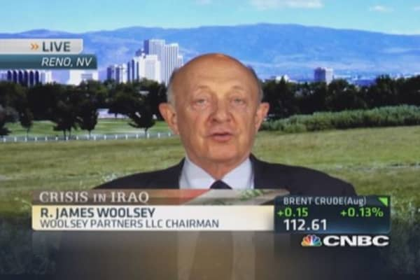 Not sure air power answer against ISIS: Woolsey