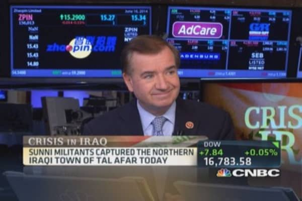Rep. Royce: US should 'move now' on Iraqi air support