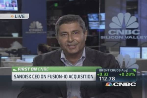 SanDisk to buy Fusion-io for $1.1 billion