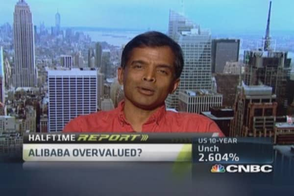 Damodaran: Estimate Alibaba valued at $140 billion