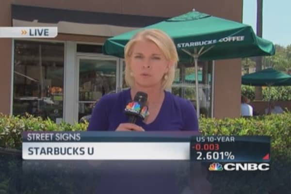 Starbucks offers free college tuition
