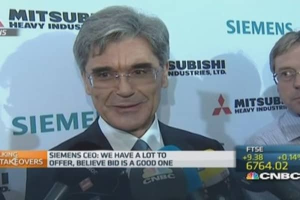 Siemens CEO: Our Alstom bid is 'superior'