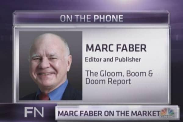 Marc Faber: Blame the media for gold's demise