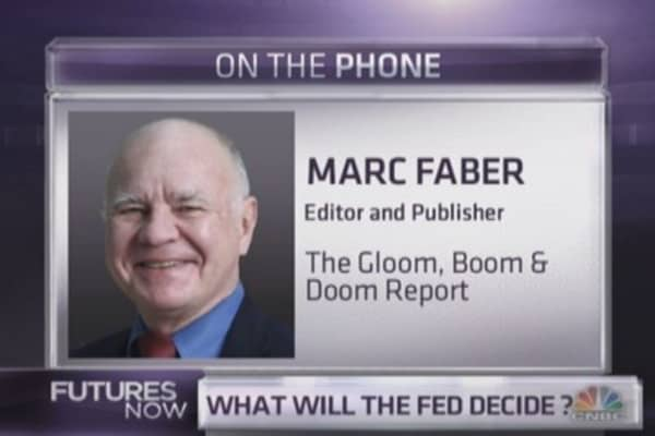 Marc Faber takes on the Fed