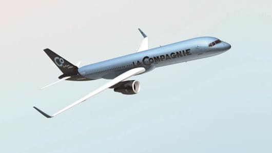 La Compagnie plans to begin service in July with one B757-200 plane.