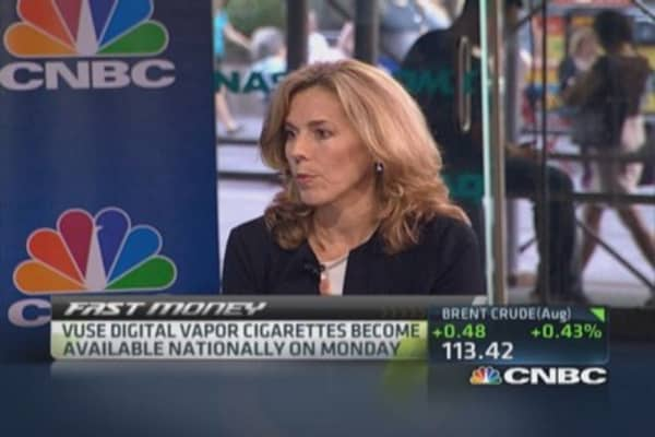 Reynolds push into e-cigs