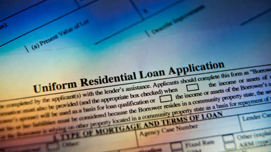 A Uniform Residential Loan Application.