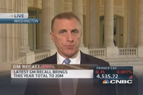 Rep. Murphy: Drivers should take GM recall notices seriously