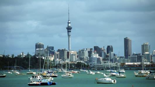 Auckland, New Zealand.