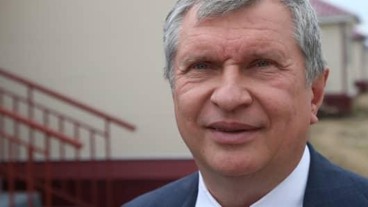 Rosneft chief executive Igor Sechin.