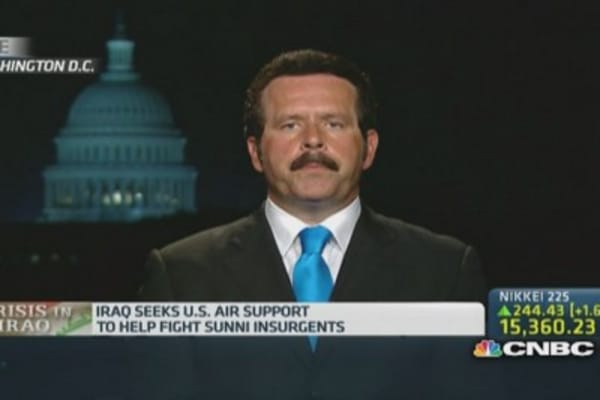 US military may be 'raining down in Iraq' soon: Pro
