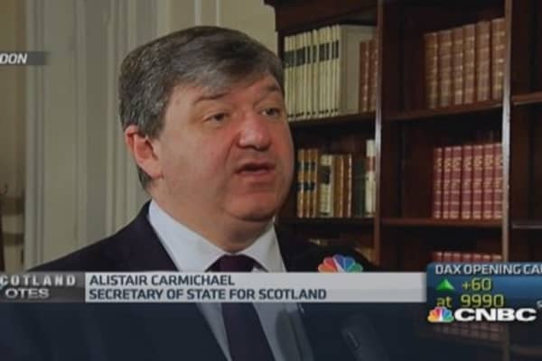 People want facts on independence: Scotland's Carmichael