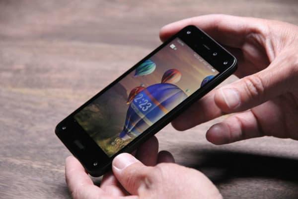Amazon's 3-D Fire smartphone.