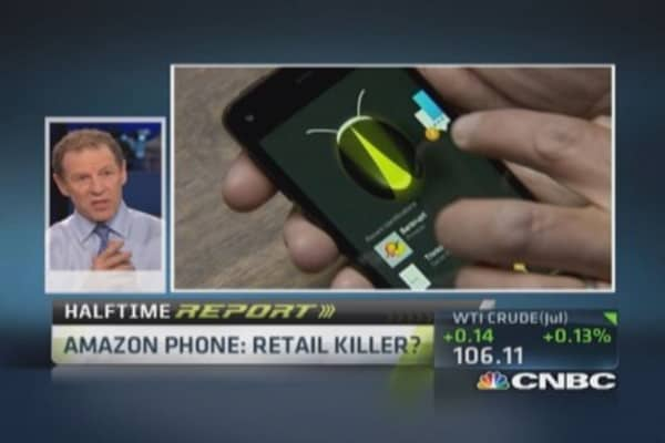 Trading Amazon's new phone