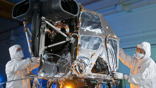 Ball Aerospace designed and built the Operational Land Imager, an advancement in Landsat sensor technology.