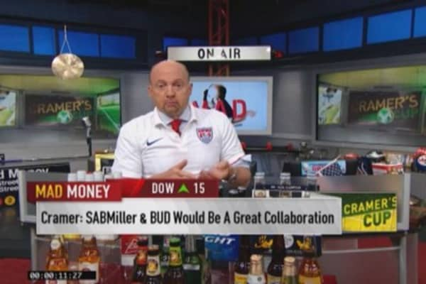 Mad Money World Cup: Anheuser-Busch InBev (BUD)